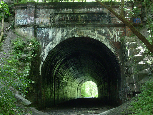 moonville tunnel green