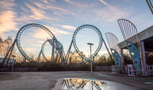 six flags new orleans roller coaster