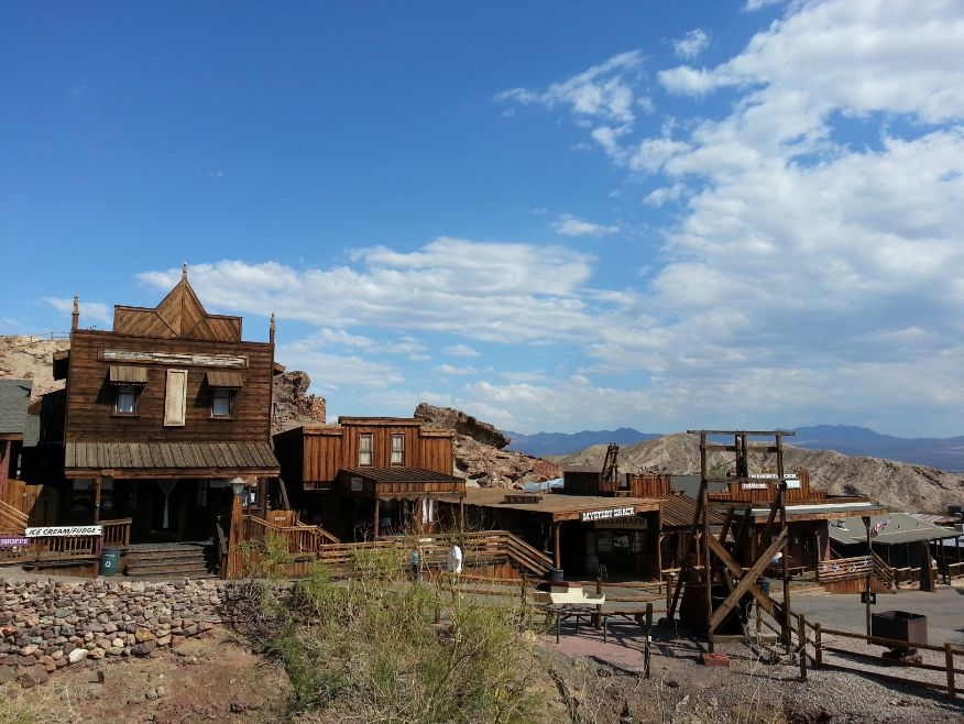 Calico abandoned town