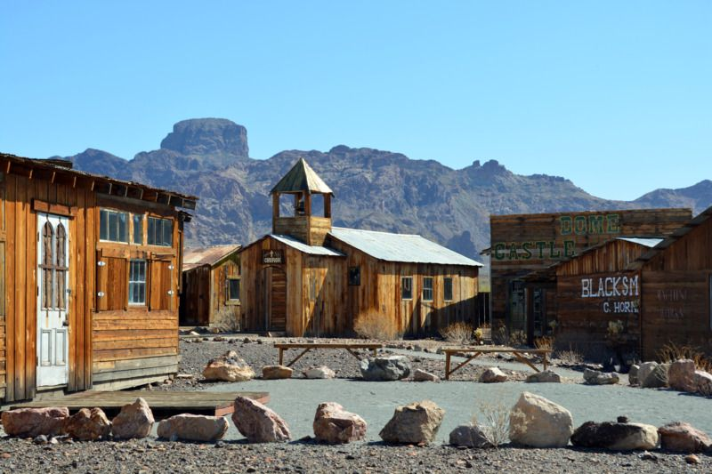 castle dome ghost town