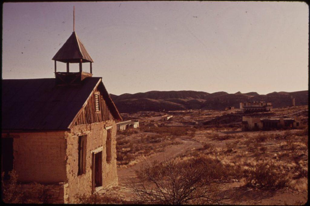 terlingua ghost town Texas church