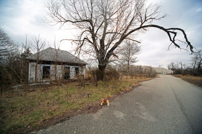 picher abandoned house