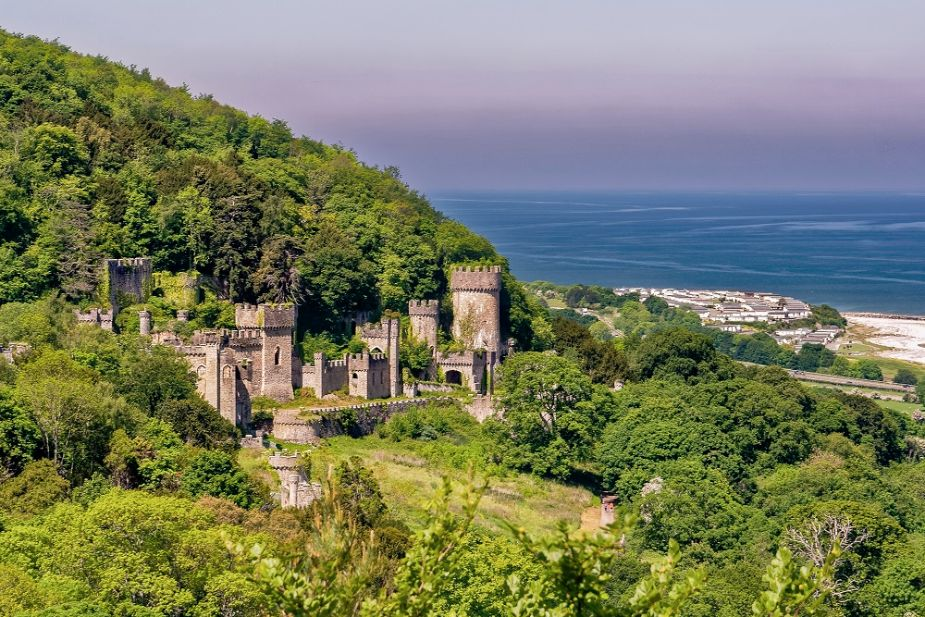 abandoned castles in Wales
