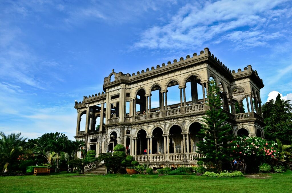 abandoned castles in the Philippines