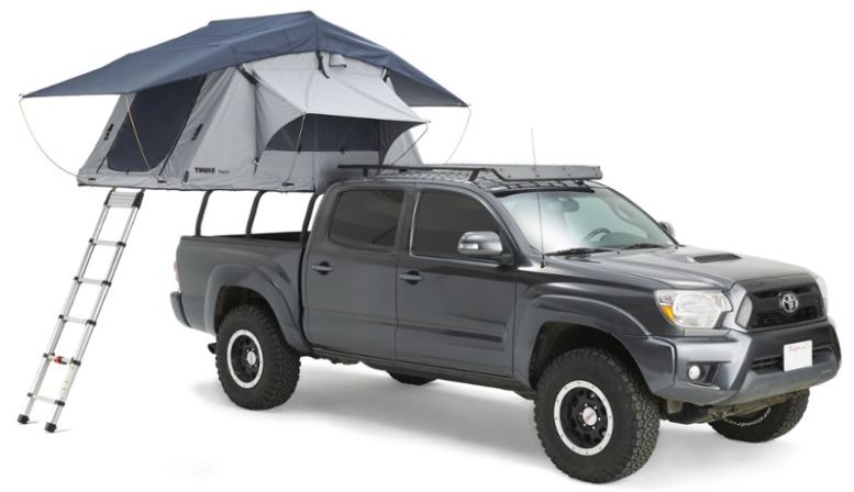 best stealth camping gear for pickup trucks