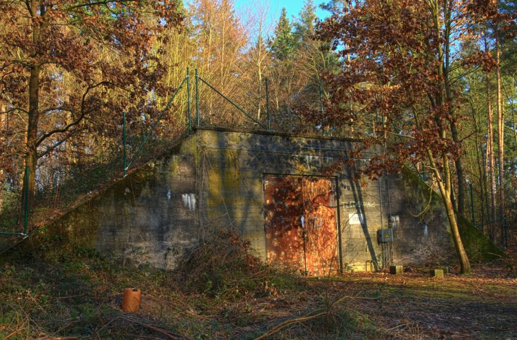Abandoned bunkers in PA