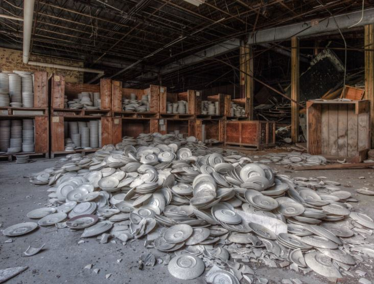Vacant china factory in PA