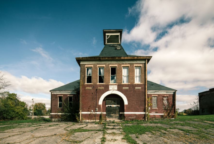 abandoned places in Indiana that are high schools