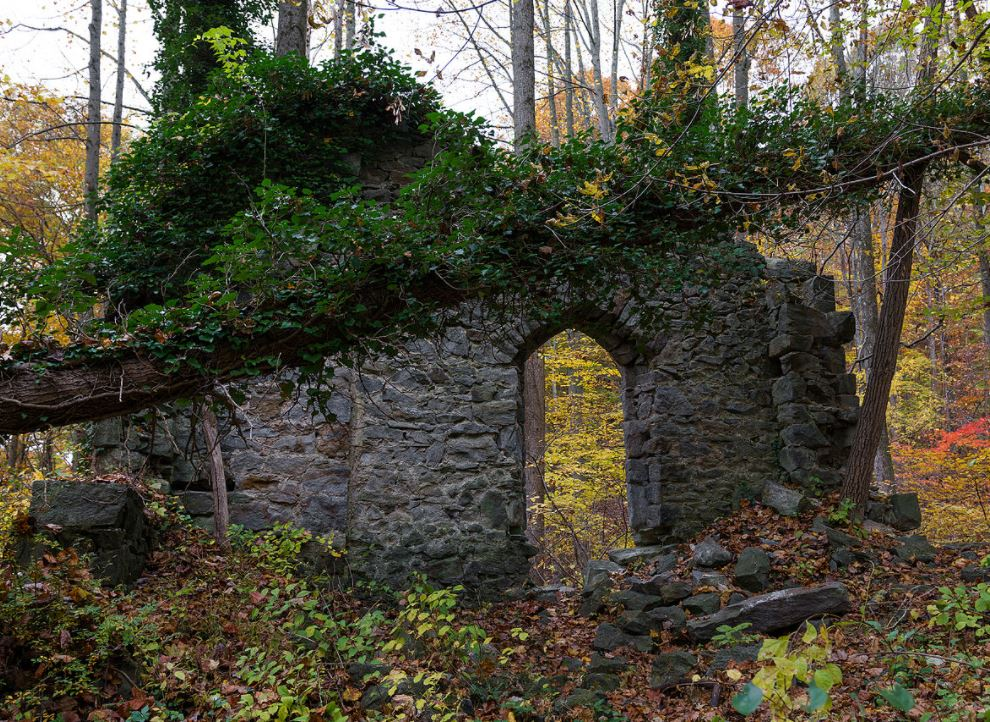abandoned ghost town in Maryland