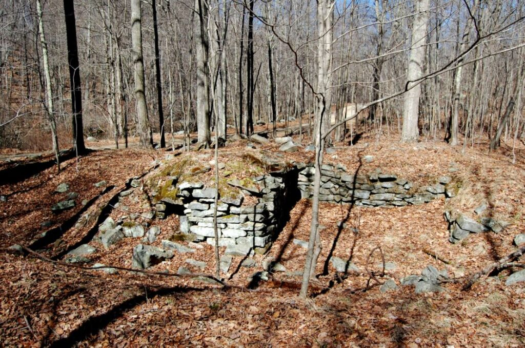 Old Genesee ghost town in Connecticut