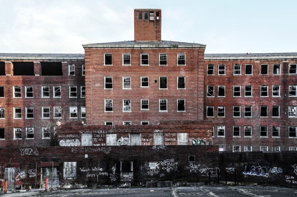 abandoned hospitals in Maryland