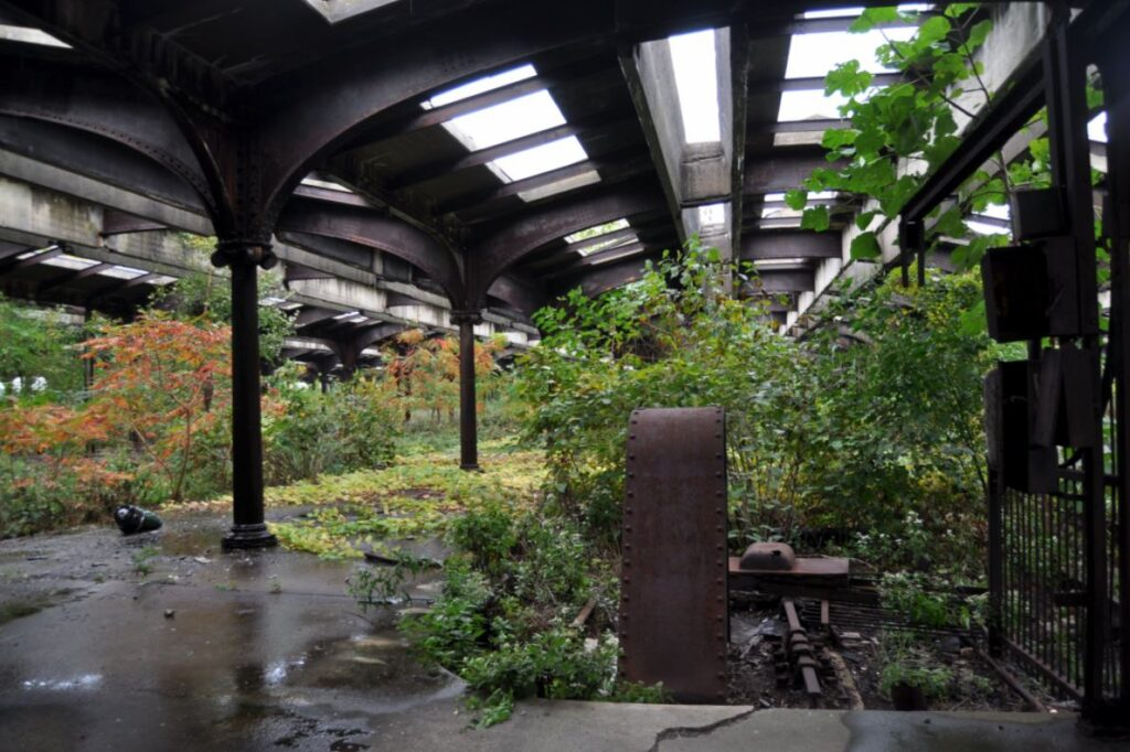 abandoned new jersey terminal