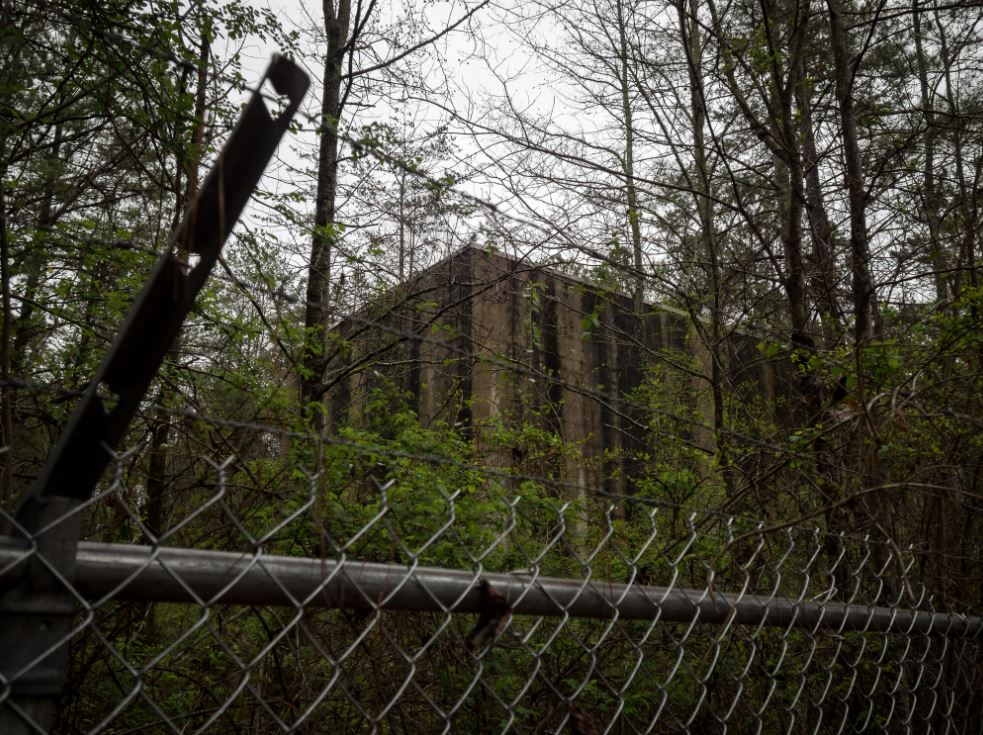 abandoned government lab