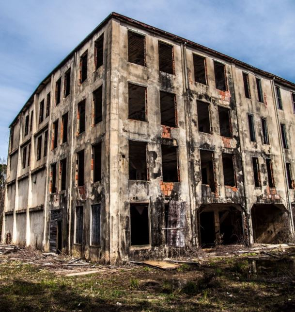 abandoned meat packing plant in Georgia